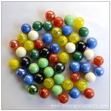 Colorful Wholesale Round Glass Marbles in Stock